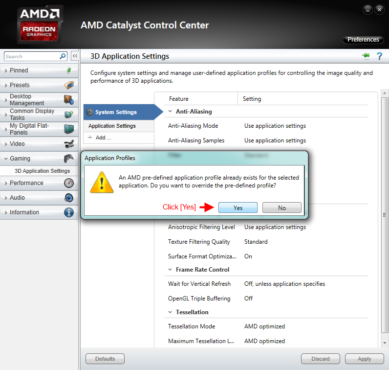 Guide:AMD Catalyst Control Center - S T E P  Project Wiki