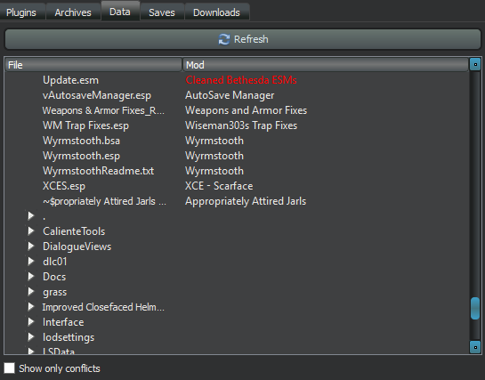 Mod Organizer HeaderTabs Functionality - S T E P  Project Wiki