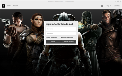 Bethesda net Launcher Exe download